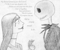 Jack and Sally by HappyRaincloud
