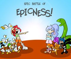 Epic Battle Of Epicness by Pembroke