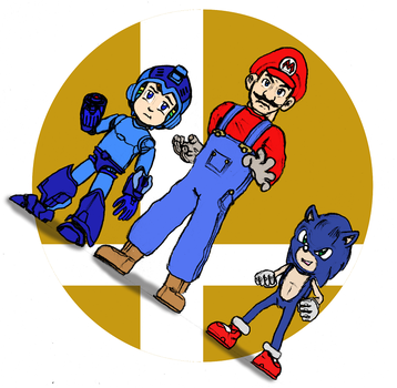 A different kind of Smash Bros. by RedBlueIsCool