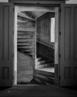 Ft.Pt.Double Doors Stairs by Wilton-Wong