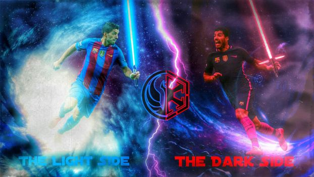 SUAREZ - The light and the dark side by Leo10thebest