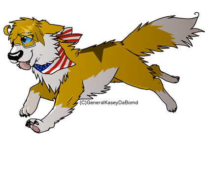 [AT with scott-pup] Ameridog by GeneralKaseyDaBomd