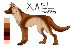 Xael Reference by Comet-117