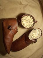 Medieval Shoes by verete17
