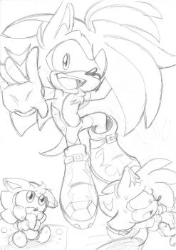 Shaundre. Shadic. The . Hedgehog by Narcotize-Nagini
