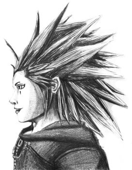 Axel (pencil) by AxelFlame8