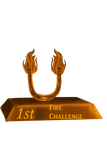ESYF Fire Challenge First Place Trophy by Rosela